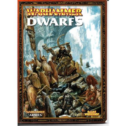 Dwarfs Warhammer Armies Rulebook 2005